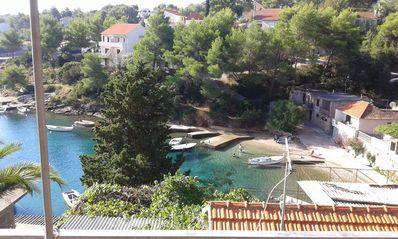 Photo for One bedroom apartment near beach Basina, Hvar (A-11923-b)