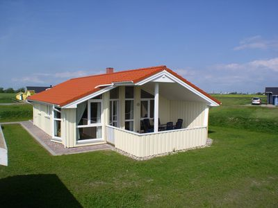 Photo for Dream house right on d. North Sea Coast only 150 m beach with sauna, fireplace