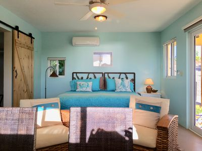 Photo for Casita w/ocean views, 1 king or 2 single beds. kitchen, HEATED salt water Pool