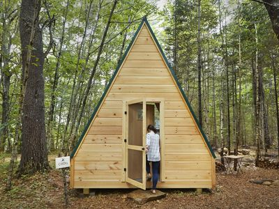 Photo for Glamping @ Tops'l Farm - Luxury A Frame Cabin #1