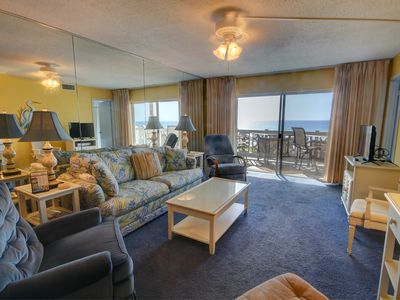 Photo for Lovely Condo w/Balcony, Pool, Tennis, Views, Private Beach Access, & More!