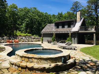 Photo for Watermill home on 5 acres, Available July 4th