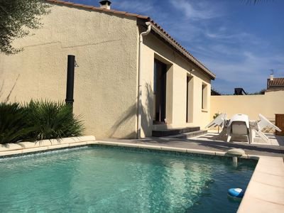 Photo for House with garden and pool near CAP D'AGDE