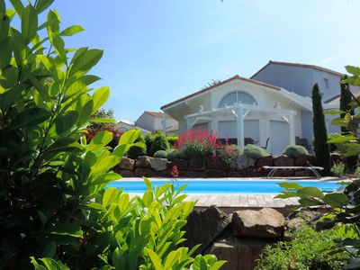 Photo for Villa 8 people with private swimming pool at Les Jardins des Sables d'Olonne