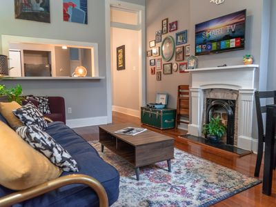 Photo for Hip Historic Uptown Apartment - Two Blocks from Magazine St