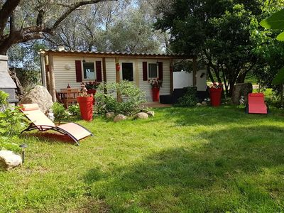 """Photo for Rental """"Les 3 L"""" under the olive trees 2km beaches, 3km river 4 pers"""