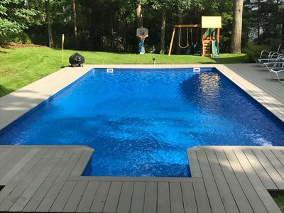 Photo for Sag Harbor Secluded Home with Heated Pool