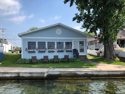 Photo for St. Lawrence Riverfront Cottage with Private Dock