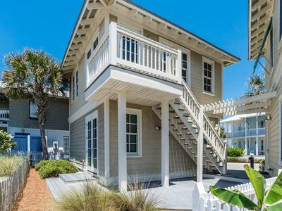 """Photo for """"COME ON INN"""" - Newly Updated!  Gulf Views and Just Steps to the Beach."""