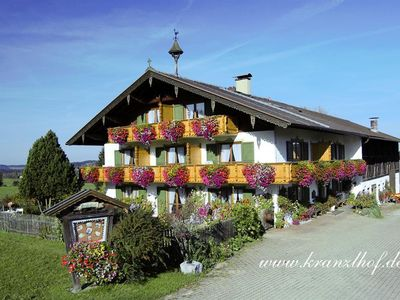 """Photo for To the Kranzlhof - double room """"Unser Nest"""""""