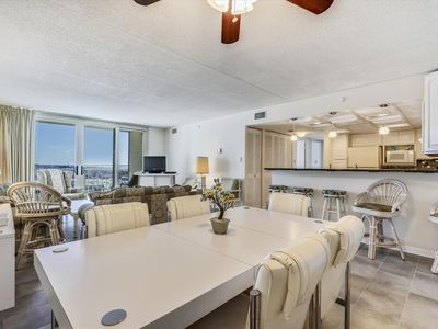 Photo for Newly Remodeled! Oceanfront Condo (Side) in N. Ocean City!