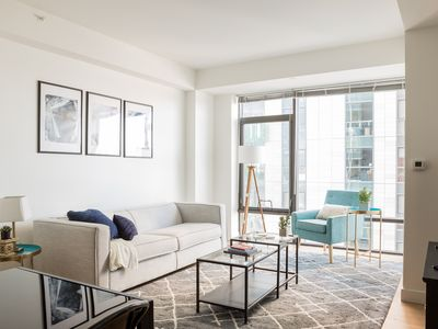 Photo for Chic 1BR in Fenway by Sonder