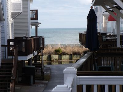 View of Ocean from main deck.