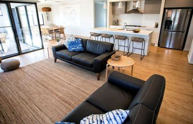 NAUTLUS IS A BEAUTIFUL NEW FAMILY HOME OPPOSITE THE WATERWAYS IN THE POINT