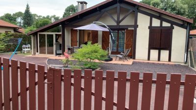 Photo for 3 bedroom villa in wooded area near Hossegor with terrace and garden