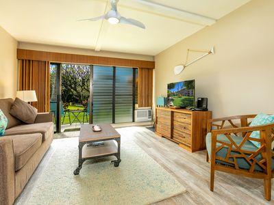 Photo for Kihei Akahi Resort unit C213 Gorgeous High-End Remodel. Beautiful Garden Views and steps to Kamaole