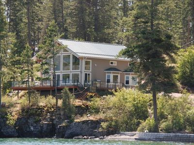 Photo for Skidoo Bay Waterfront Cabin/Beautiful Beach, June /July, August.