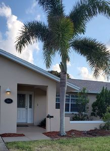 Photo for Indian Harbour Beach-3 bed, 2 bath single family walking distance to Beach