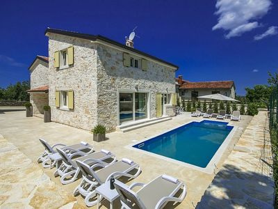 Photo for Nice villa with private pool located between Novigrad and Porec, 2.5 km from the beach