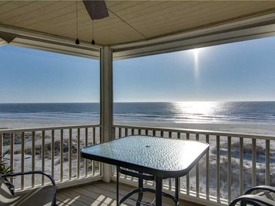 Photo for Relaxing Screened Porch and Widow's Walk With Amazing Ocean Views- Cozy Wild Dunes Villa!