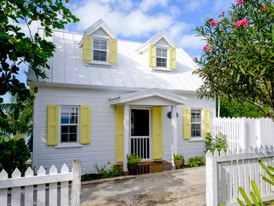 Photo for Charming Cottage Overlooking Hopetown Harbour With Boat Dock