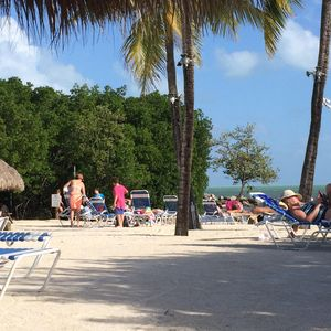 Ahhh, there is nothing like lounging on the beach at our resort.