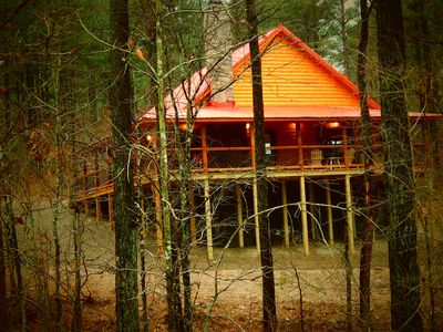 Photo for Moondance Lodge: 2 br 2 bth w/loft nestled on 1+ acres