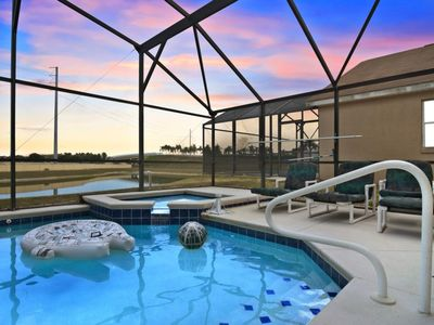 Photo for House by the Mouse, Lakeview pool and spa, Wheelchair and Kids friendly. Upgraded, Themed Rooms, Game Room, Close to Disney
