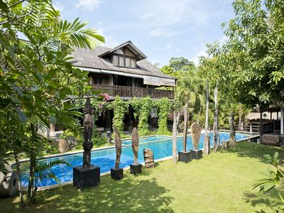 Photo for Madu, 4 Bedroom Rustic Spacious Villa+Pool, Umalas
