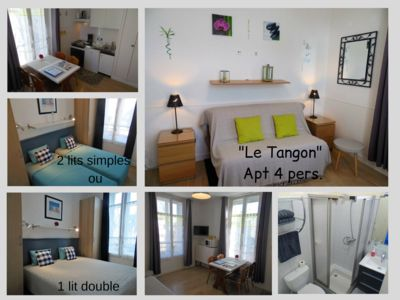 Photo for Appt 4 pers. 30m from the sea Saint-Malo prox. beach Sillon, intramuros, spa