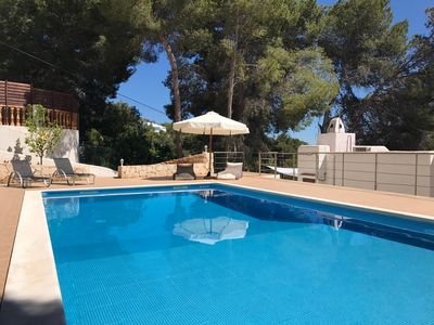 Photo for Charming villa with pool, in the quiet hills of San Antonio, Ibiza