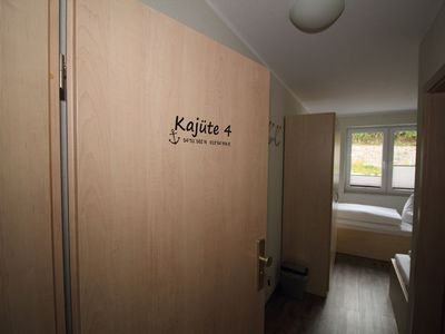 "Photo for Holiday room ""cabin"" for 2 persons - holiday room ""cabins"" - directly in the Sassnitz city harbor"