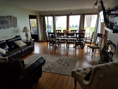 Photo for Magical winter lakefront property 10% off weekly stays now through April 2020