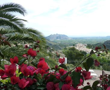 Photo for GREAT GETAWAY APARTMENT WITH STUNNING VIEWS ON THE COSTA BLANCA.