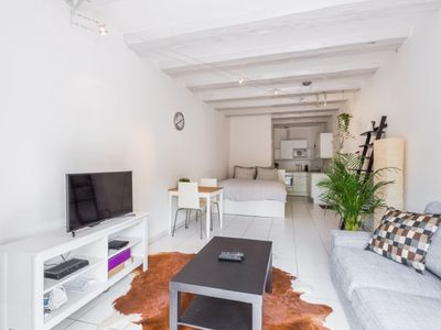 "Photo for Luxurious & fully furnished studio w canal view in authentic ""Jordaan"" area"
