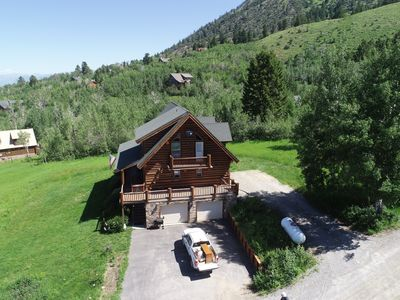 Photo for Log home in the Mountains