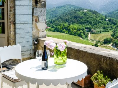 Photo for Heaven for two - stunning views from highest village house