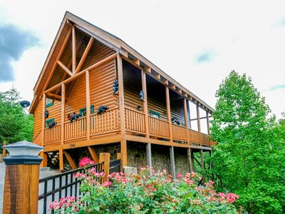 Photo for Escape Reality - Mountain View Cabin in Pigeon Forge