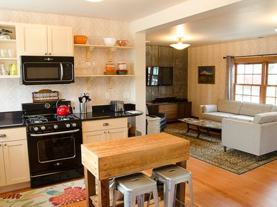Photo for A Handsome Newly Remodeled Vintage Inspired Apartment In Downtown Newberg, OR