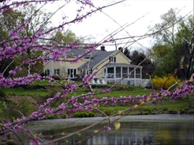 Photo for Beautiful 3 Bedroom Farmhouse with Pool, Pond and Vegetable Garden