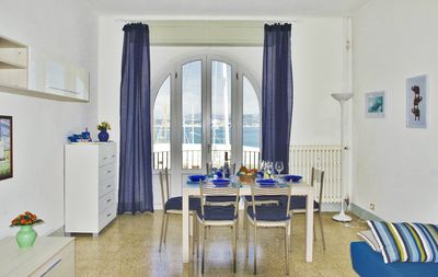 Photo for Comfortable spacious apartment in the center of the bay of Le Grazie Portovenere