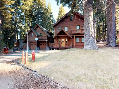 Photo for NEW LISTING! Stunning Tahoe retreat w/main home & guest house, NW side of lake