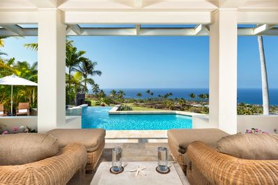 Relax and enjoy the view from the lanai