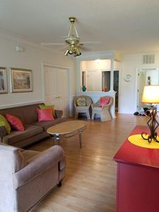 Photo for Barefoot Resort Villa, 3bd/2ba - pet friendly, ground floor, WI-FI
