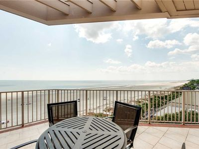 Photo for Direct OCEANFRONT Top Floor Corner Condo with Updates Galore!