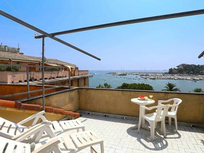 Photo for Belvedere - Terrace on the sea - WiFi