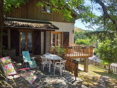 Photo for Gîte 3 * VERY BEAUTIFUL PANORAMA st. alpine skiing, bottom H. LOIRE 43150 ESTABLES