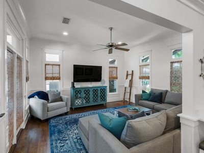 Photo for Beautiful Rosemary Beach Home-Private Courtyard Oasis-Steps to Pool & Tennis Courts-Close to Beach!!