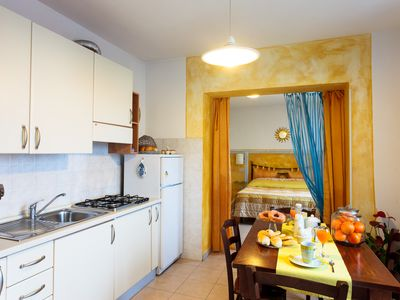 Photo for Vacation in the village with sea view enjoy! only 5km from the beach
