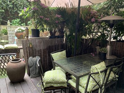 Photo for RARE Patio Garden open 1-bed Apartment in NOMAD Manhattan